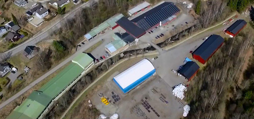Fabrikken dronefoto